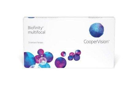 Soczewki Biofinity Multifocal 3 szt. typ D